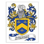 Sturgis Coat of Arms Small Poster