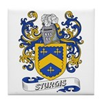 Sturgis Coat of Arms Tile Coaster
