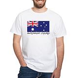 Australian infidel Mens White T-shirts