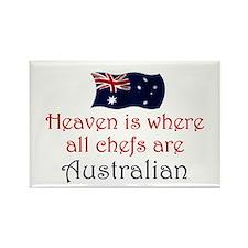Australian Chefs Rectangle Magnet