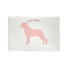 Rottie... Be My Valentine Rectangle Magnet (10 pac