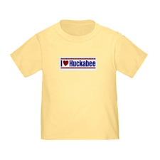 I Love Huckabee T