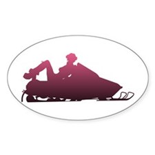 Snowboots Oval Decal