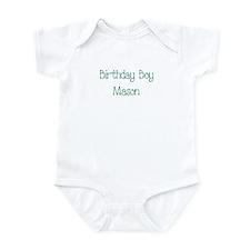 Birthday Boy Mason Infant Bodysuit