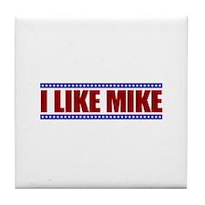 I Like Mike Tile Coaster