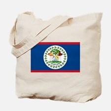 Belize Country Flag Tote Bag
