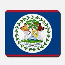 Belize Country Flag Mousepad