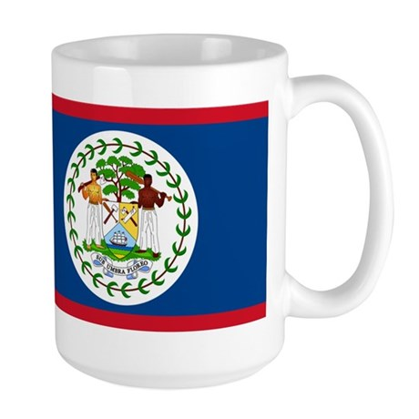 Belize Country Flag Large Mug