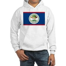 Belize Country Flag Jumper Hoody