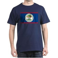 Belize Country Flag T-Shirt