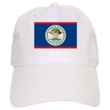 Belize Country Flag Baseball Cap