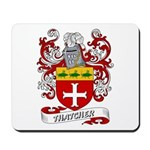 Thatcher Coat of Arms Mousepad