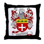 Thatcher Coat of Arms Throw Pillow