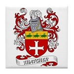 Thatcher Coat of Arms Tile Coaster