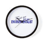 Trust Me I'm an Environmental Wall Clock