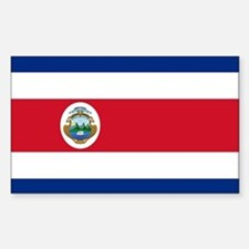 Flag of Costa Rica Decal