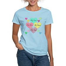 4 Hearts Grunt T-Shirt