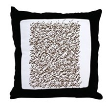 Siyah-Mashq Throw Pillow
