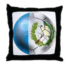 Guatemala Football Throw Pillow