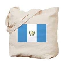 Flag of Guatemala Tote Bag