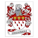 Thorndike Coat of Arms Small Poster