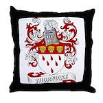 Thorndike Coat of Arms Throw Pillow
