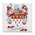 Thorndike Coat of Arms Tile Coaster