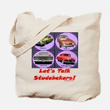 """Let's Talk Studebakers"" Tote Bag"