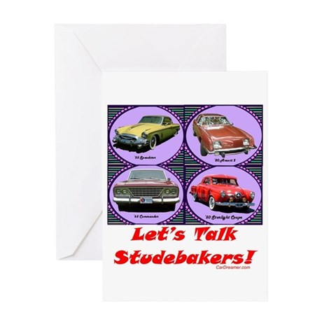 """""""Let's Talk Studebakers"""" Greeting Card"""