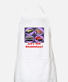 """""""Let's Talk Studebakers"""" BBQ Apron"""