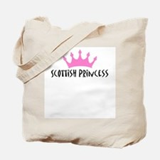 Scottish Princess Tote Bag