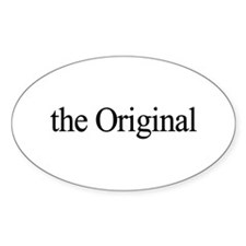 The Original Oval Decal