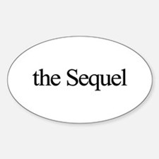 The Sequel Oval Decal