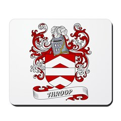 Throop Coat of Arms Mousepad