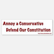 Defend Our Constitution Bumper Bumper Bumper Sticker