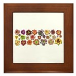 Daylilies Galore Framed Tile