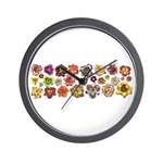 Daylilies Galore Wall Clock