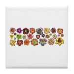 Daylilies Galore Tile Coaster