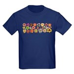 Daylilies Galore Kids Dark T-Shirt