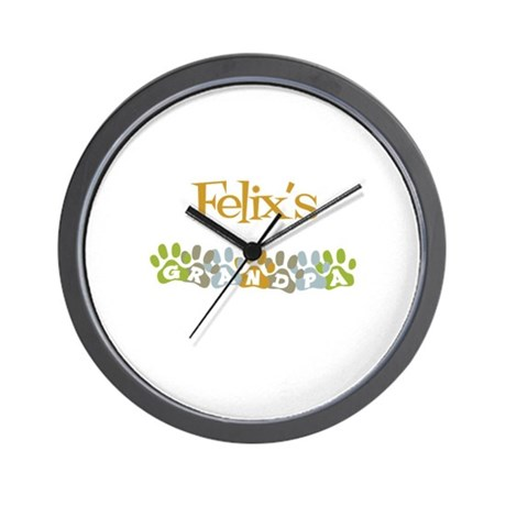 Felix's Grandpa Wall Clock