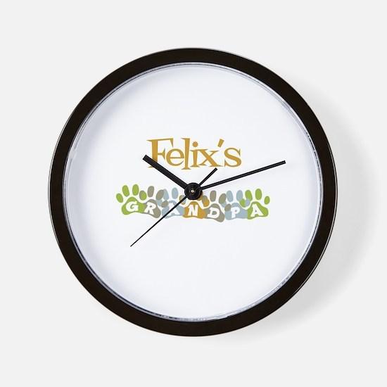 Felix's Grandpa Wall Clock