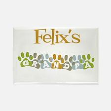 Felix's Grandpa Rectangle Magnet