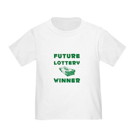 Future Lottery Winner Toddler T-Shirt