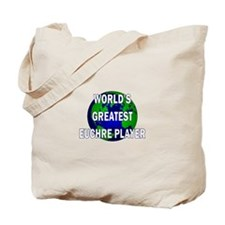 World's Greatest Euchre Playe Tote Bag