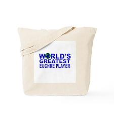 World's Greatest Euchre Playe Tote Bag