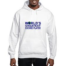 World's Greatest Euchre Playe Hoodie