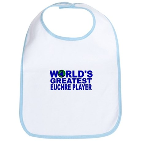World's Greatest Euchre Playe Bib