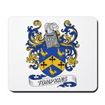 Tompkins Coat of Arms Mousepad
