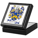 Tompkins Coat of Arms Keepsake Box