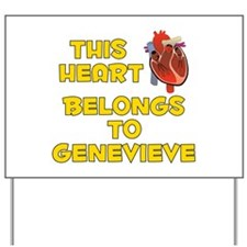 This Heart: Genevieve (A) Yard Sign